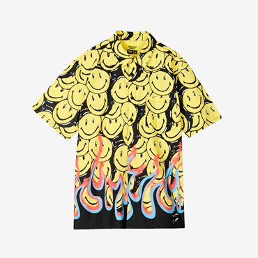 Smiley Flames SS T-Shirt