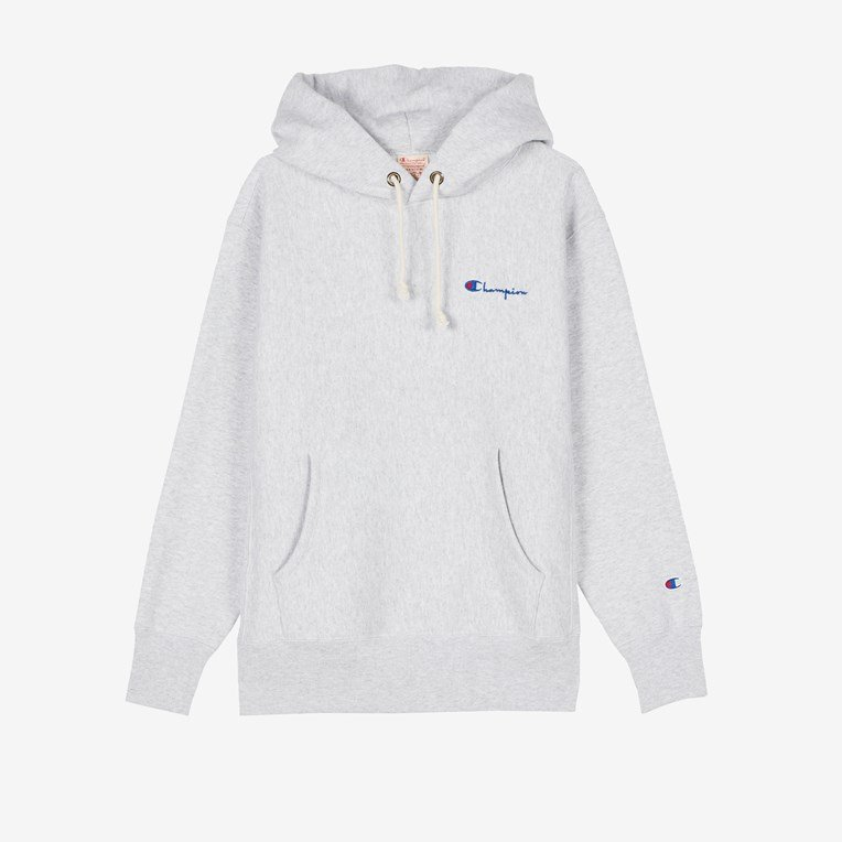 Champion Small Script Hooded