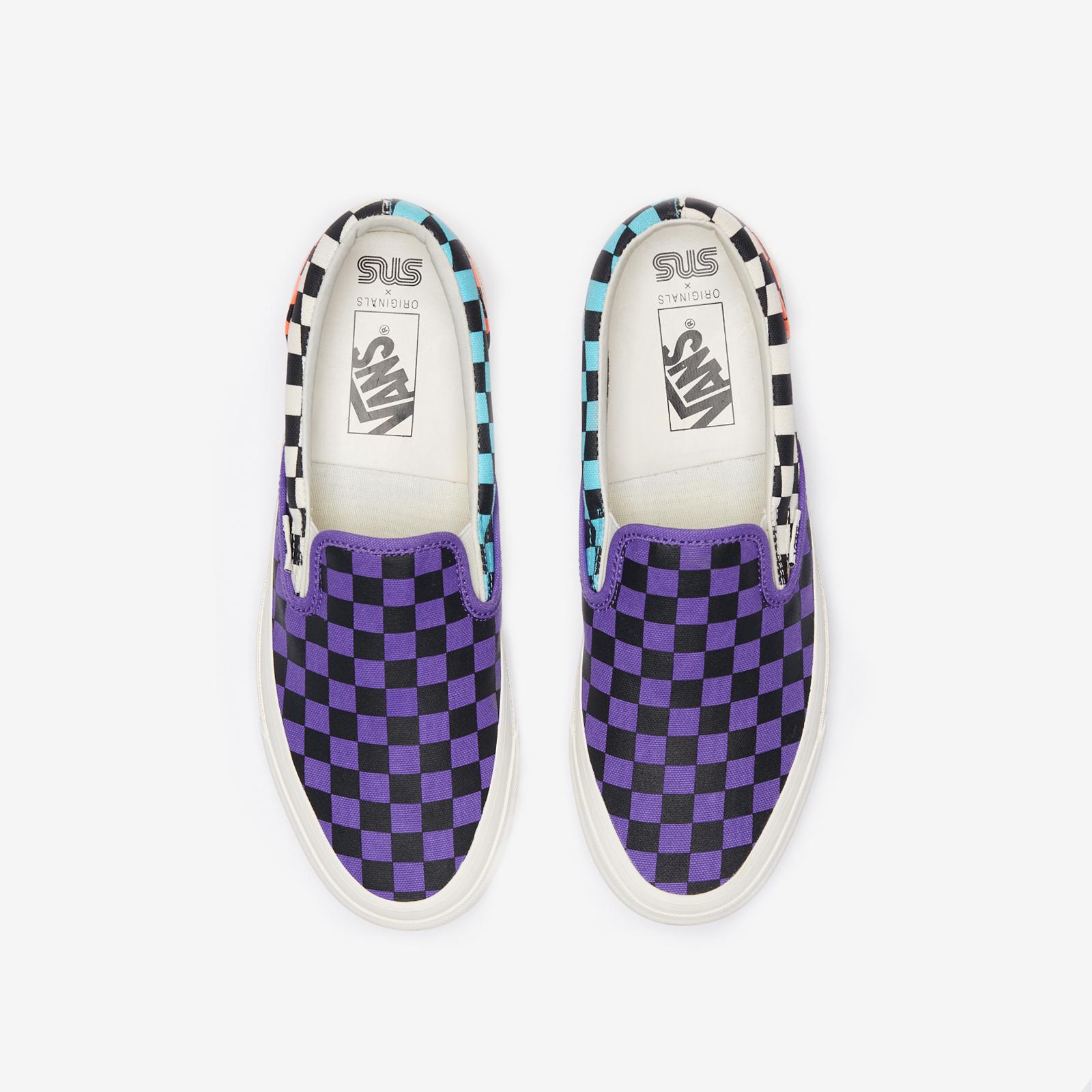 Vans OG Classic Slip-On LX x Sneakersnstuff - Vn0a45jk01m - SNS ...