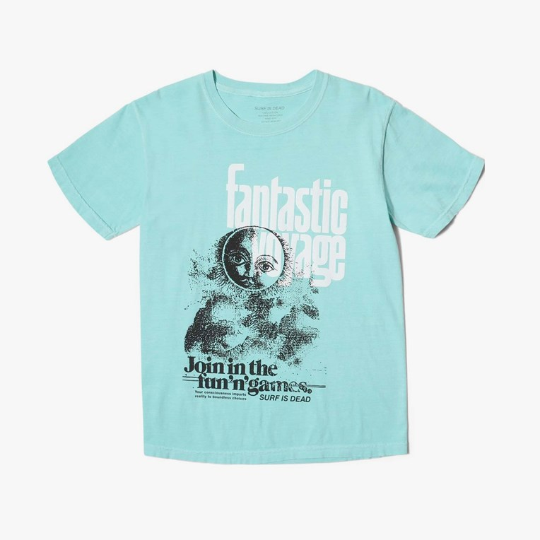 Surf Is Dead Fantastic Voyage Tee