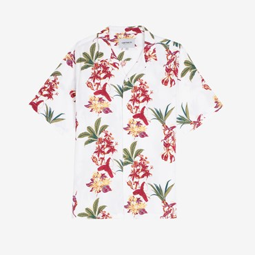 S/S Hawaiian Floral Shirt