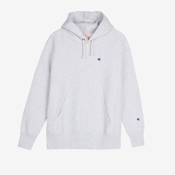Champion Logo Hooded Sweatshirt - Champion - Modalova