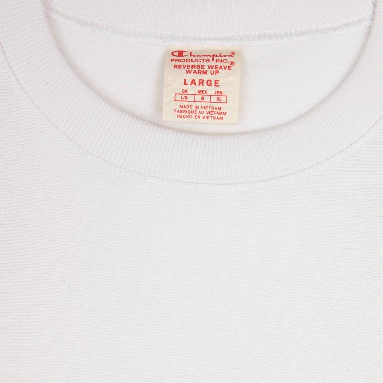 Champion Sleeve Mini Logo Crewneck T-Shirt weiß L Weiß 210971 WW001