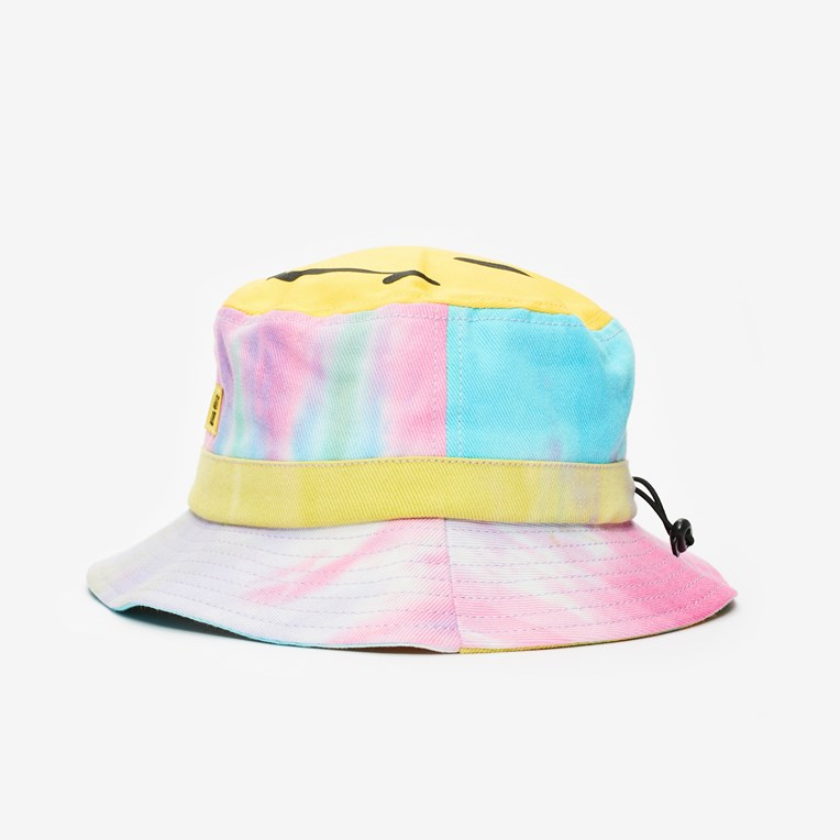 Chinatown Market Smiley Tie Dye Bucket Hat - 2