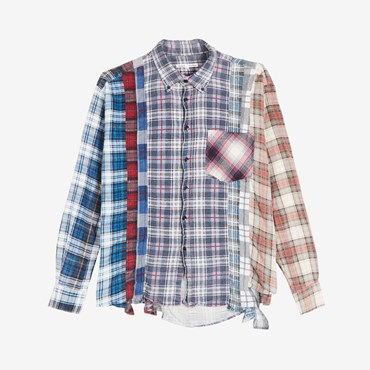 Flannel 7 Cuts Shirt