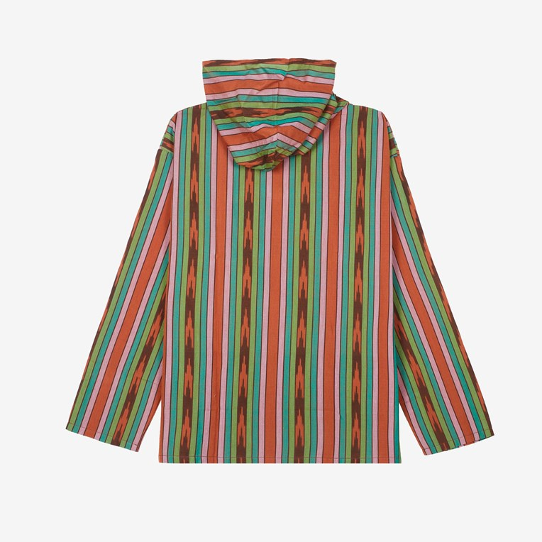 South2 west8 Mexican Cloth Ikat Parka - 2