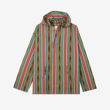 Mexican Cloth Ikat Parka