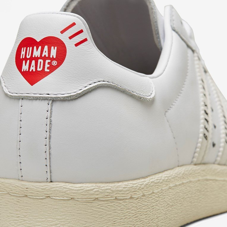 adidas by Pharrell Williams Superstar 80s Human Made - 8