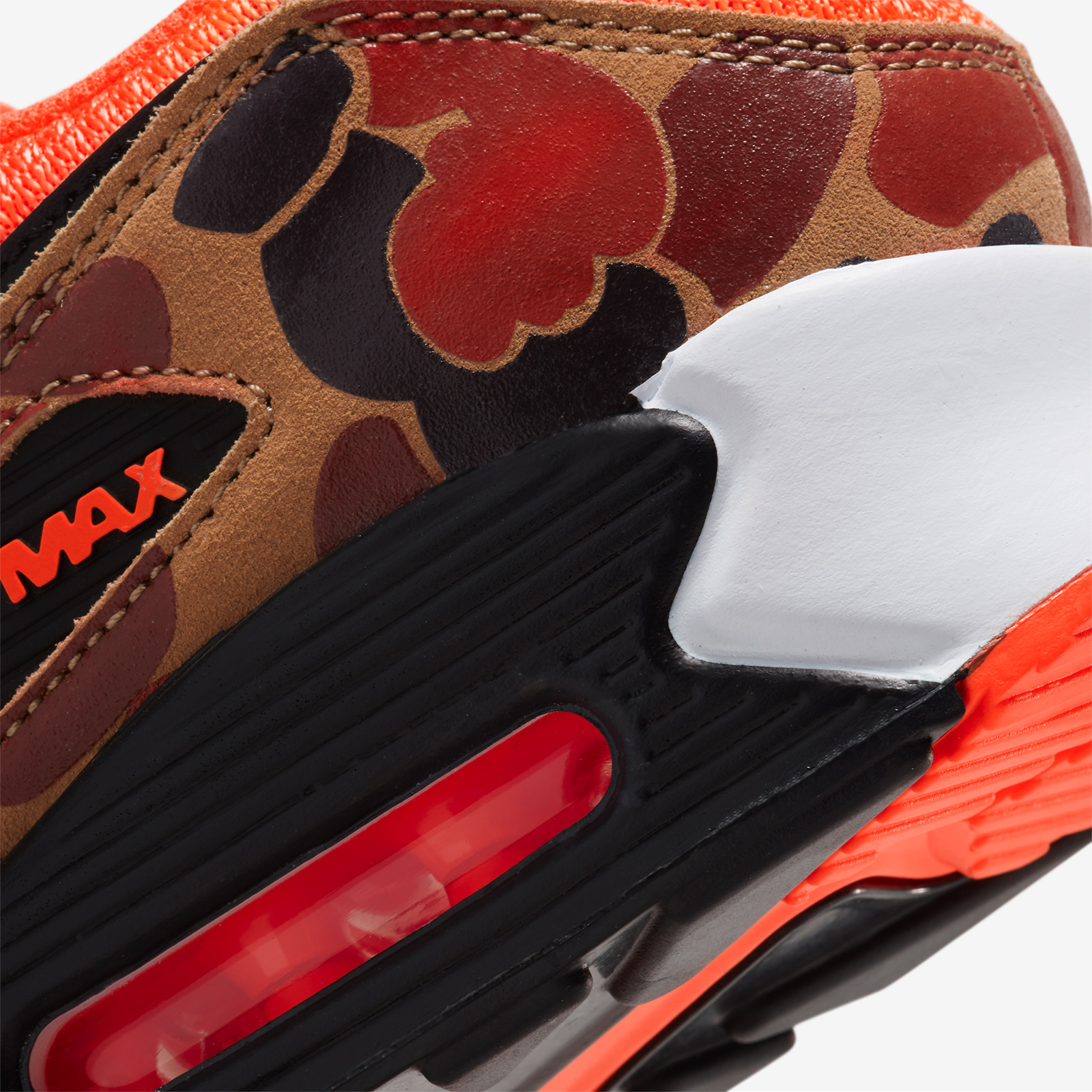 nike air max 90 kaki orange