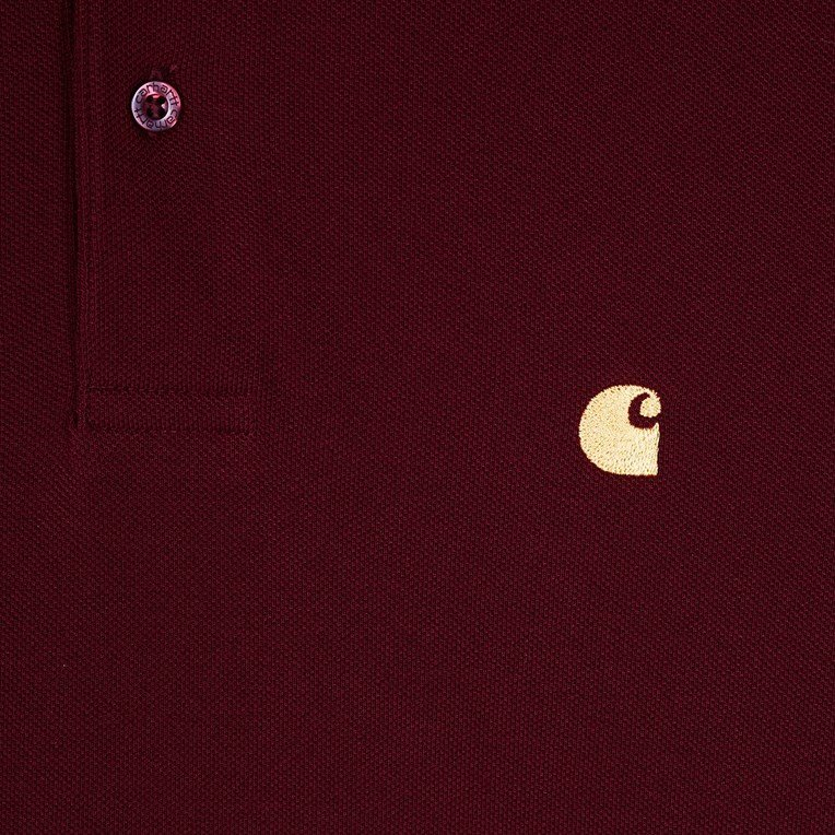 Carhartt L/S Chase Pique Polo - 4