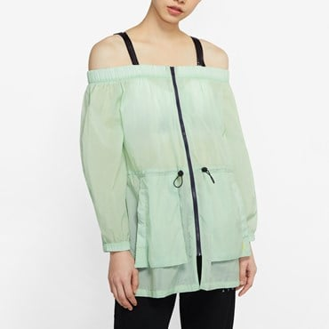 Utility Off Shoulder Jacket