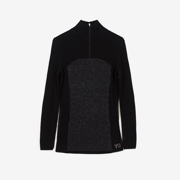 W Ch1 Reflective Knit Sweater