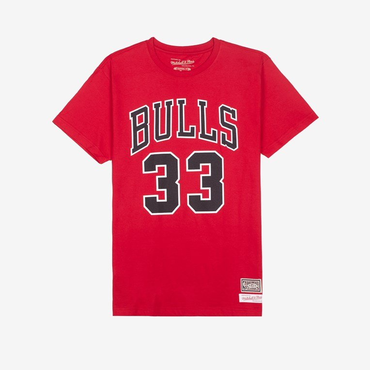 Mitchell & Ness Last Dance Bull Number 33 Tee