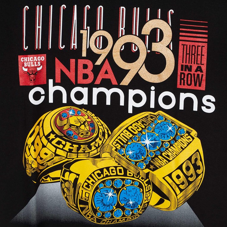 Mitchell & Ness Last Dance Bull 93 Champs Tee - 2
