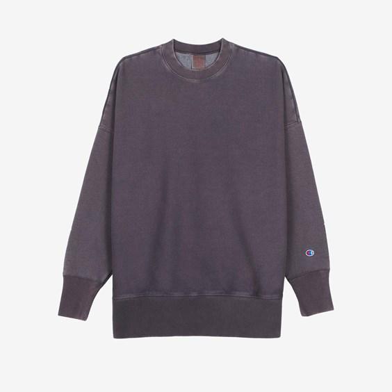 Champion Garment Dye Crew Neck Sweatshirt