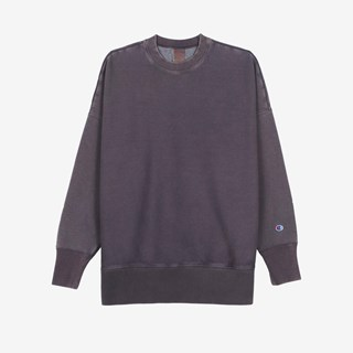 Champion Garment Dye Crew Neck Sweatshirt