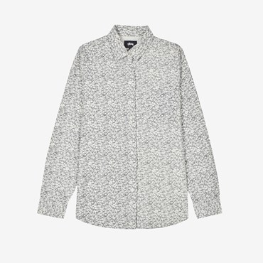 Printed Sherpa Button Down
