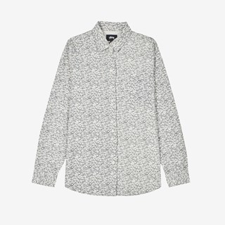 Stussy Printed Sherpa Button Down