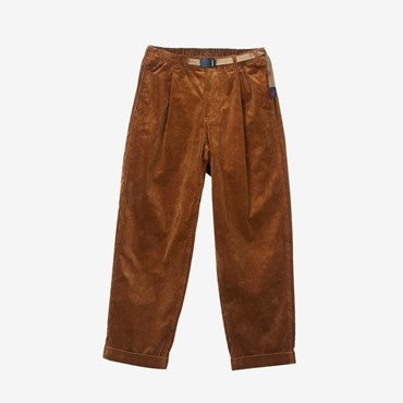 CORDUROY TUCK TAPERED PANT
