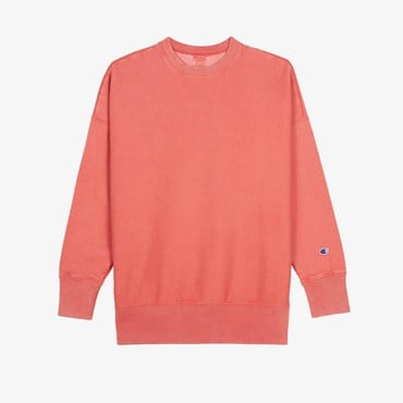 Garment Dye Crew Neck Sweatshirt