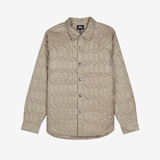 Stussy Quilted Insulated Ls Shirt