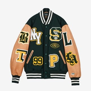 Golden Bear Golden Bear Varsity Jacket x SNS
