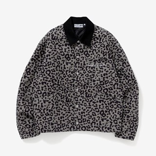 BlackEyePatch Leopard Duck Jacket