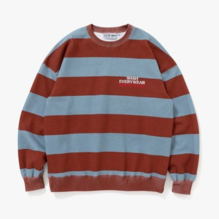 Blackeyepatch Laundomat Bordered Crew Sweat