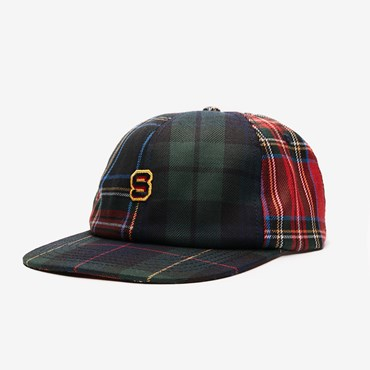 Block Flannel Cap 6 panel