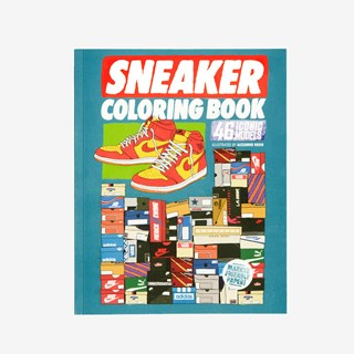Books Sneaker Coloring Book