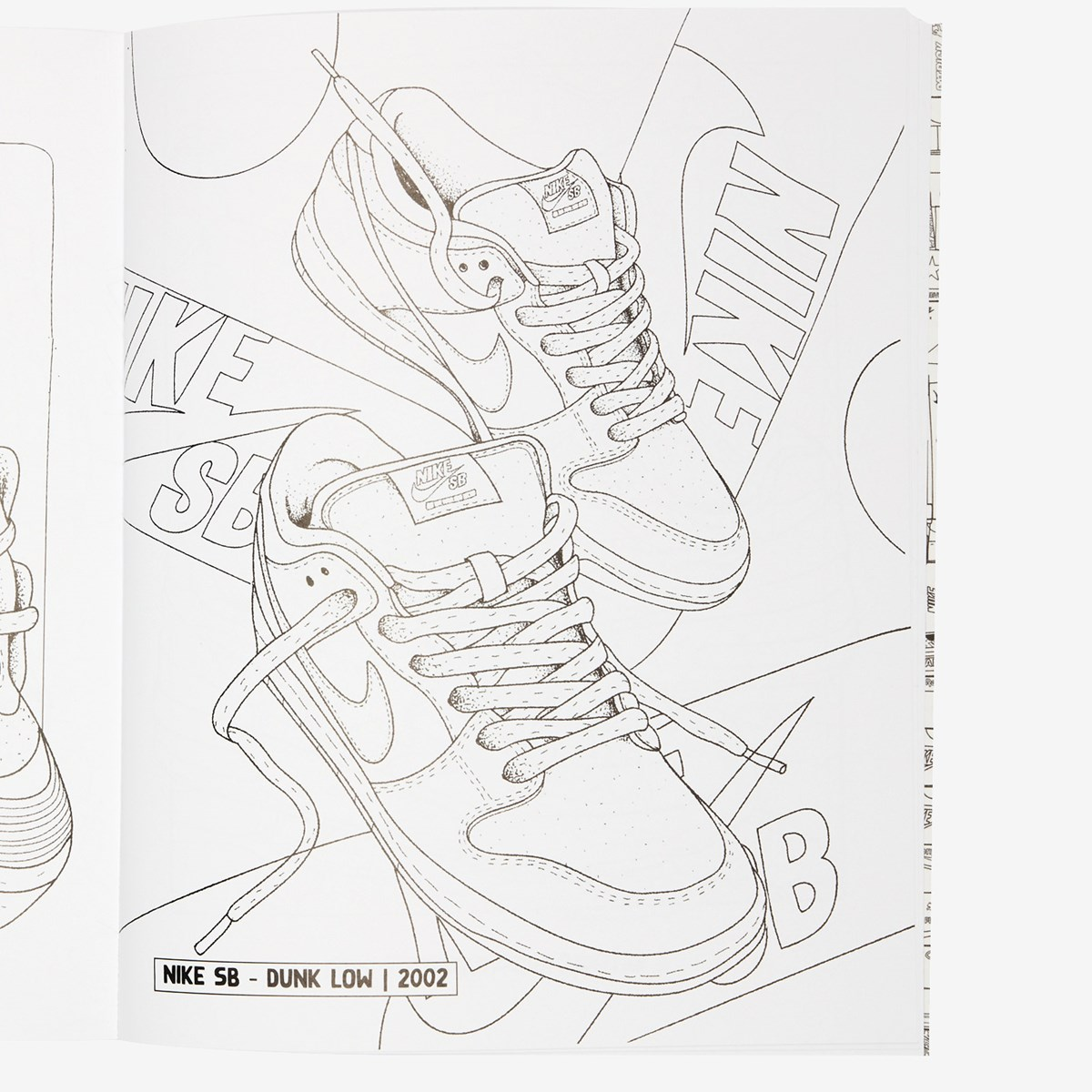 Books Sneaker Coloring Book 9789188369437 Sneakersnstuff Sneakers Streetwear Online Since 1999