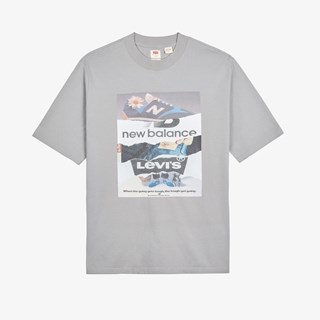 リーバイス (Levi's) Graphic Tee x New Balance