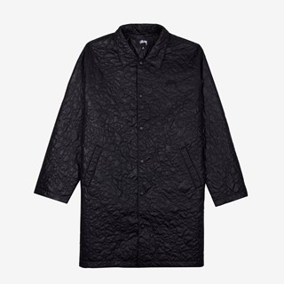 Stussy Ritters Long Quilted Jacket
