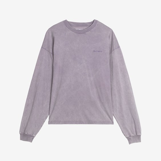 W' L/s Mosby Script T-shirt - Carhartt Wip - Modalova