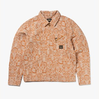 Aries Denim Floral 191 Jacket x Lee
