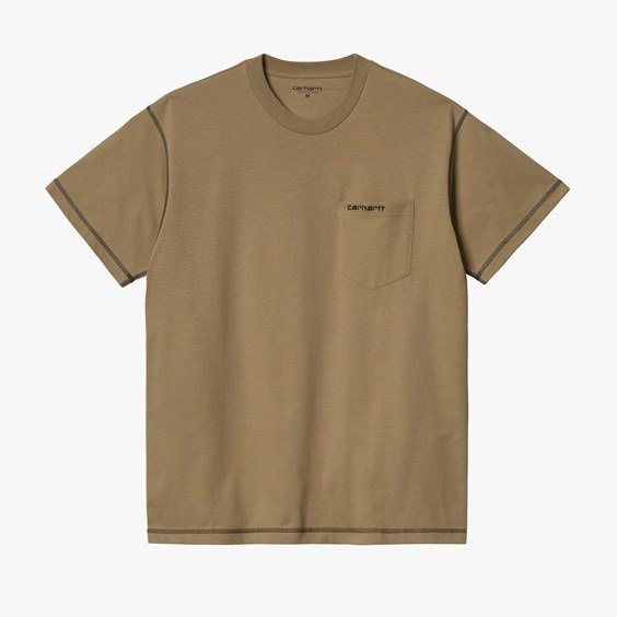 Short Sleeve Nazka Pocket T-shirt - Carhartt Wip - Modalova