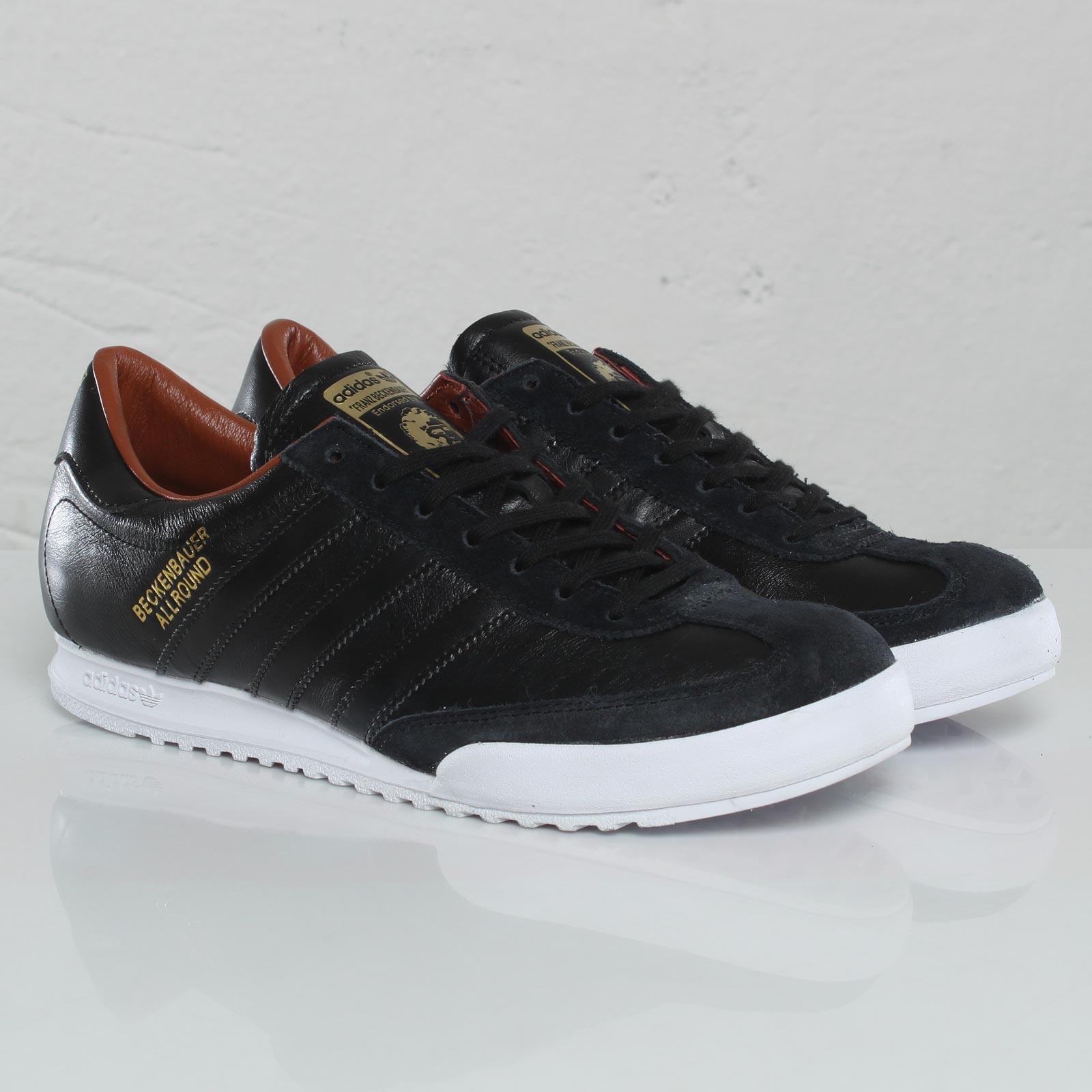 adidas beckenbauer allround black and gold