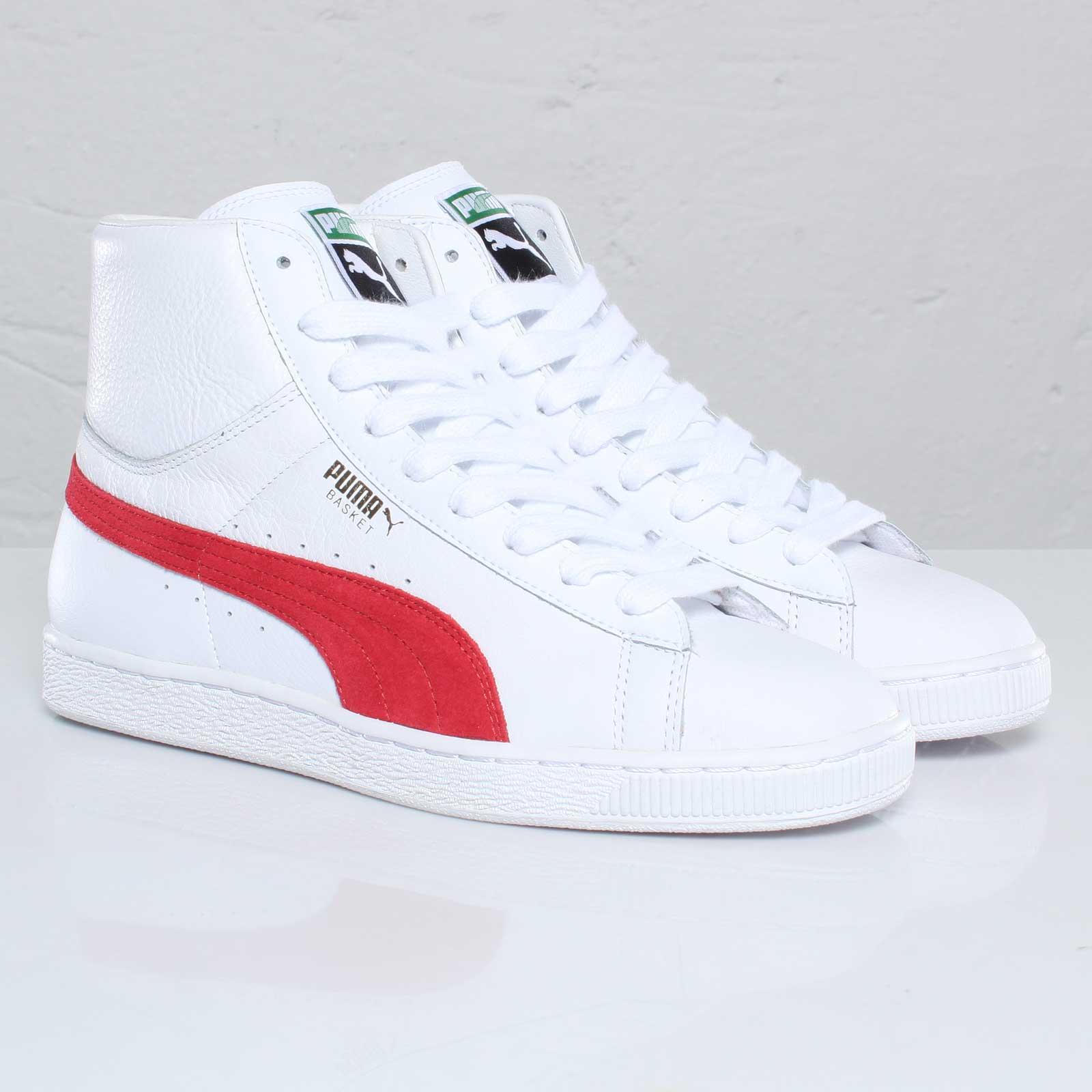 quality design 3c0e7 80a13 Puma Basket Classic Mid L - 109135 - Sneakersnstuff ...