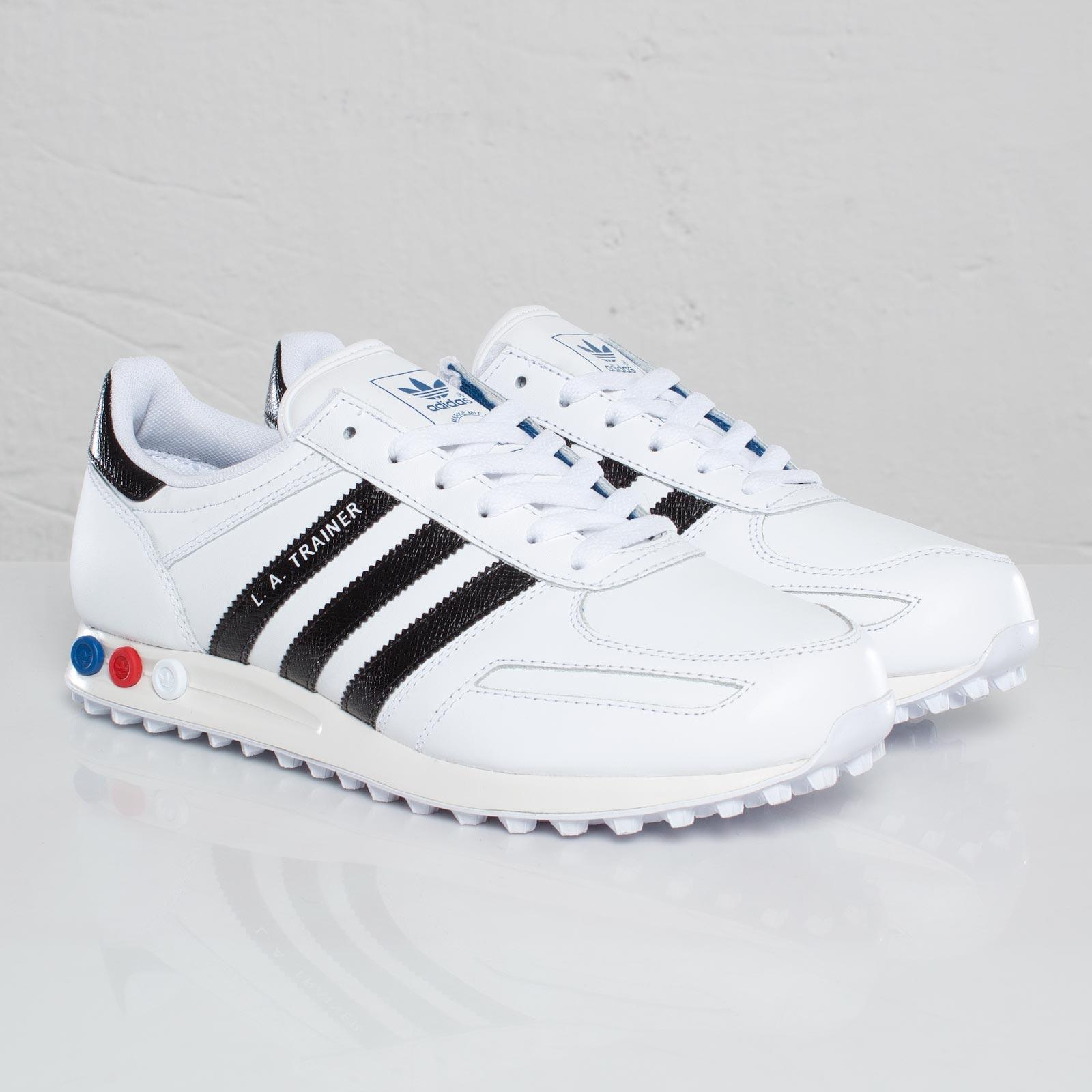 adidas la trainer mens white