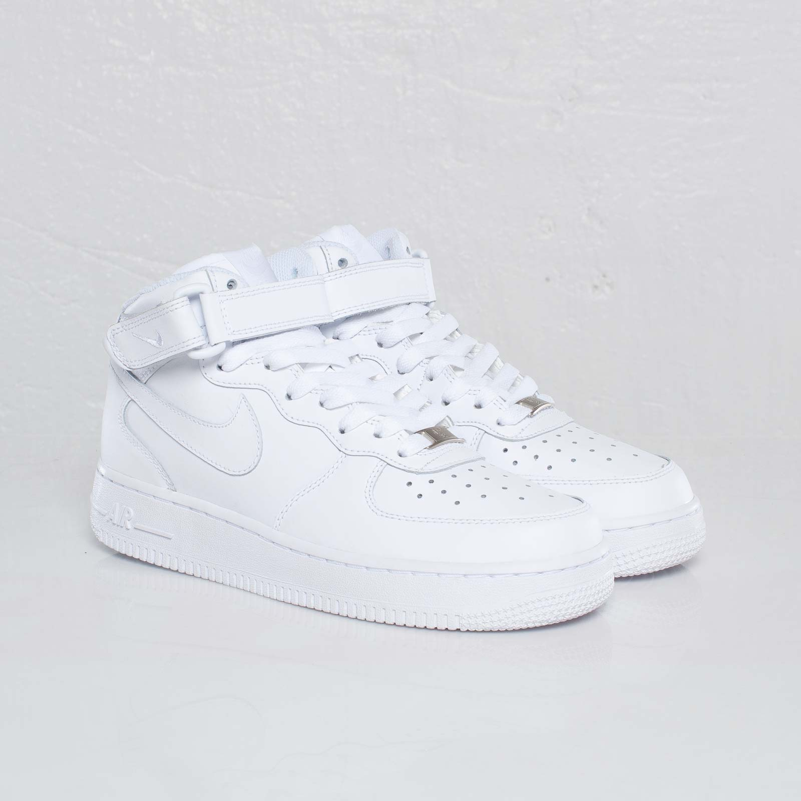 nike air force vita låga dam