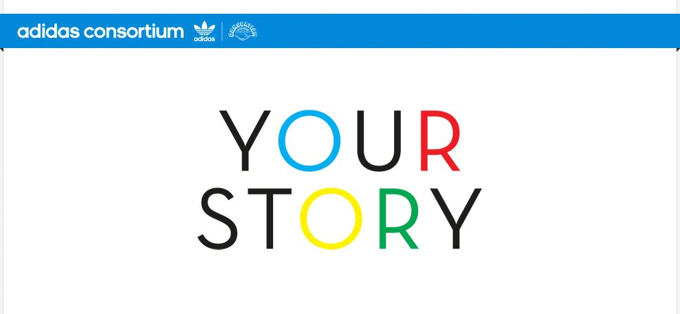 adidas Consortium Your Story