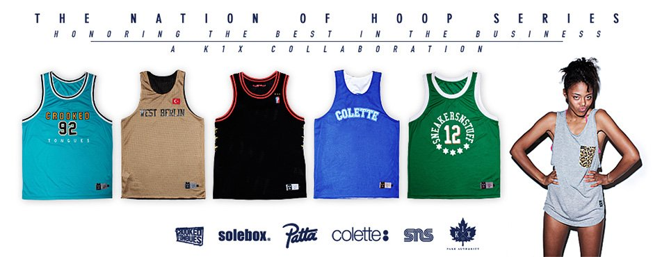 K1X The Nation of Hoop Series