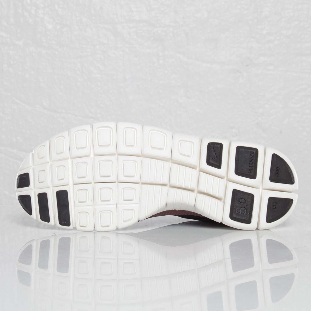 Nike Free 5.0 V4 Deconstruct 'BlackBlack Sail Team Brown
