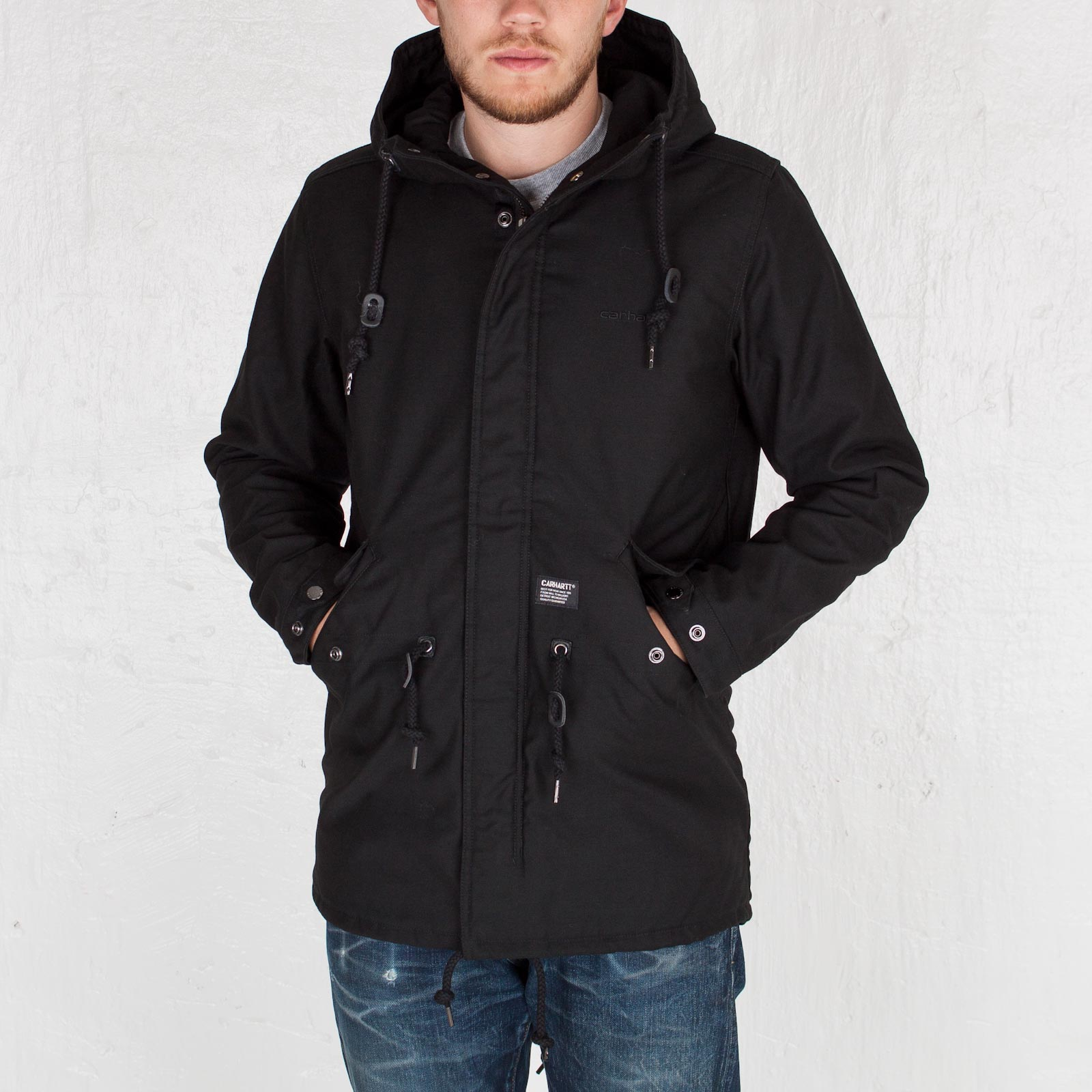 new product 24dae 482ee Carhartt WIP Clash Parka - I013606.89.00.03 - Sneakersnstuff ...