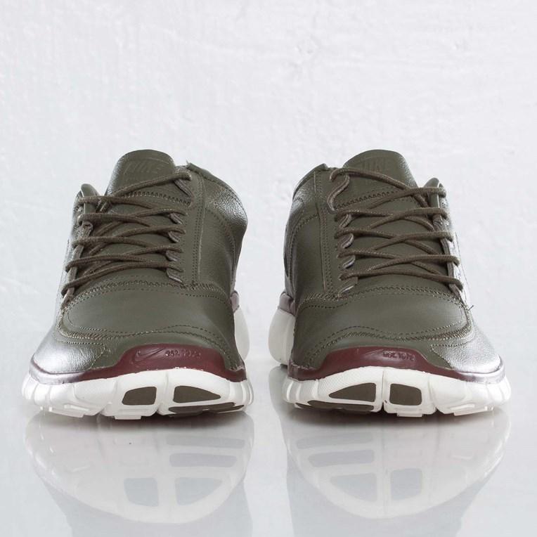 Nike Free 5.0 V4 Deconstruct shoes beige brown