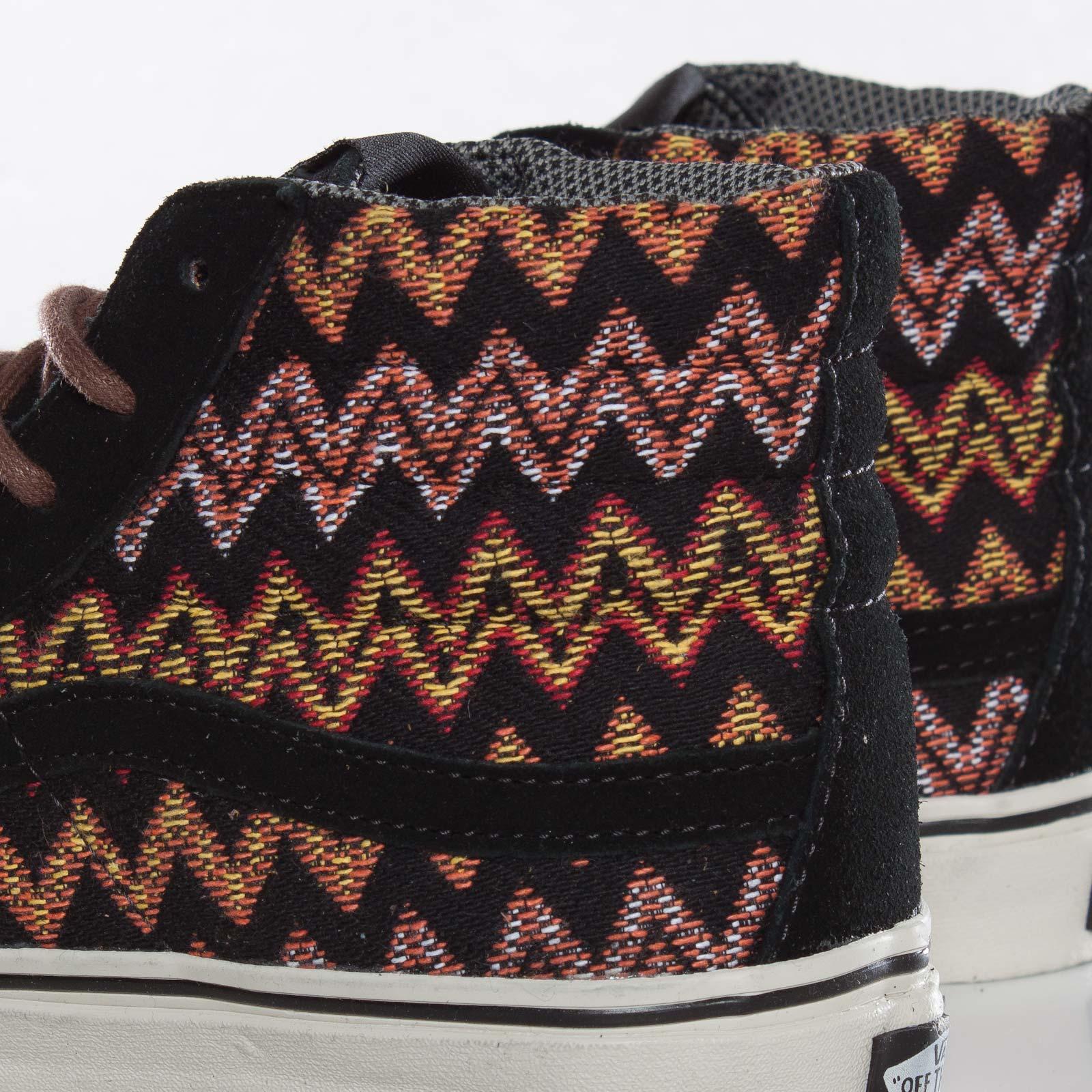 25e7543854ddaf Vans Sk8-Hi Slim Ca (Zig Zag) - Rra74n - Sneakersnstuff