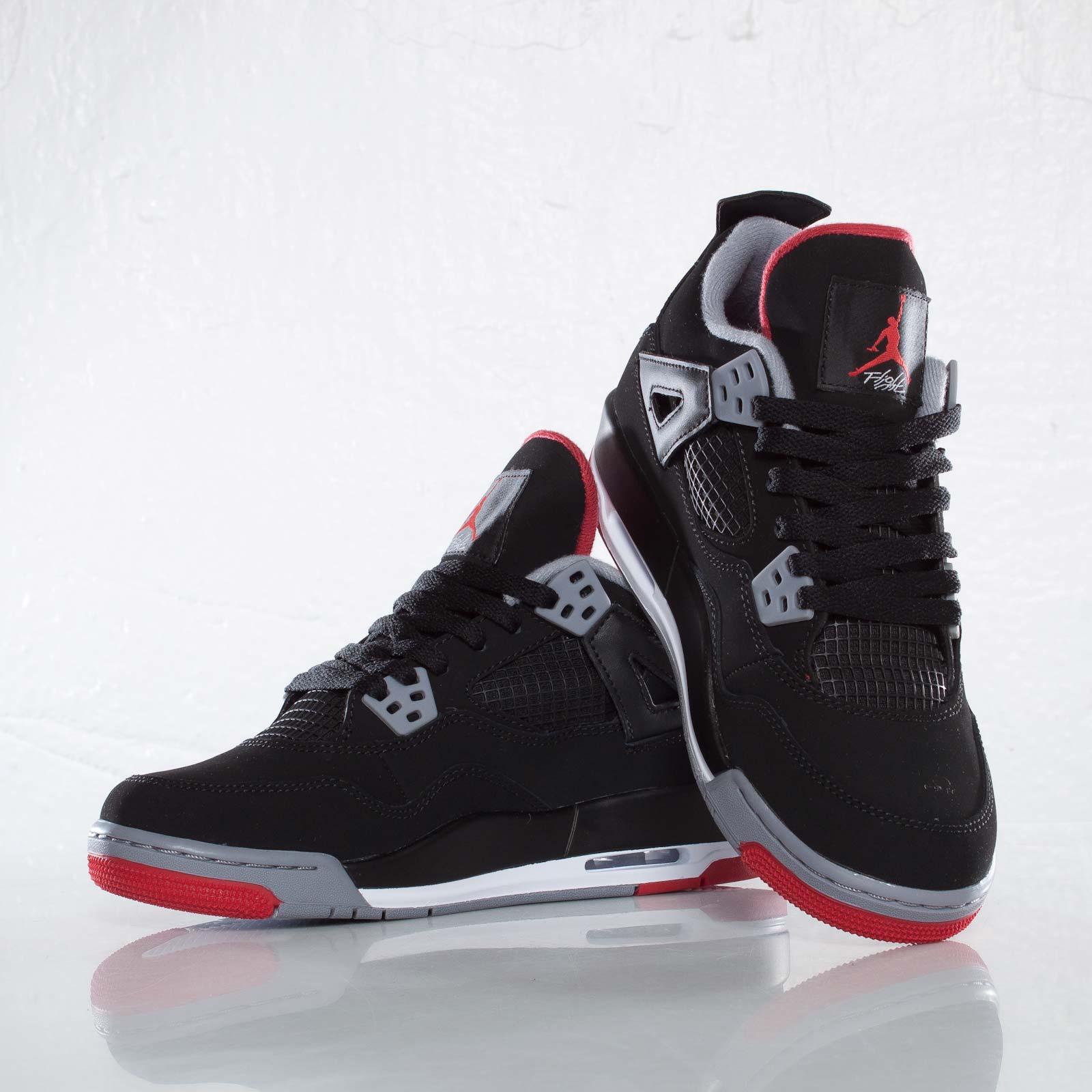 on sale 8b549 ee262 Jordan Brand Air Jordan 4 Retro (GS) - 408452-089 - Sneakersnstuff    sneakers   streetwear online since 1999