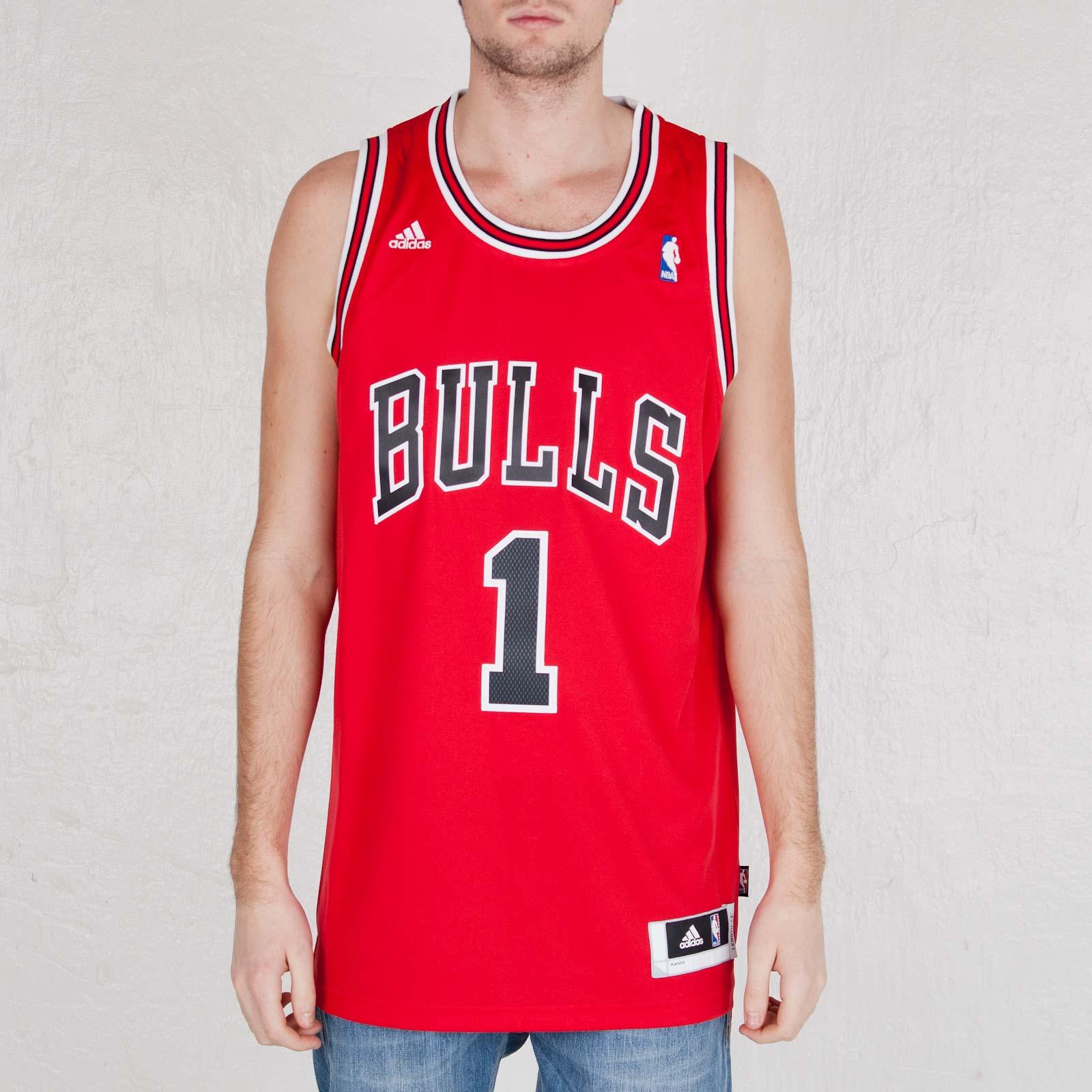 a8ad4e64792 adidas NBA Chicago Bulls Jersey - L68565 - Sneakersnstuff