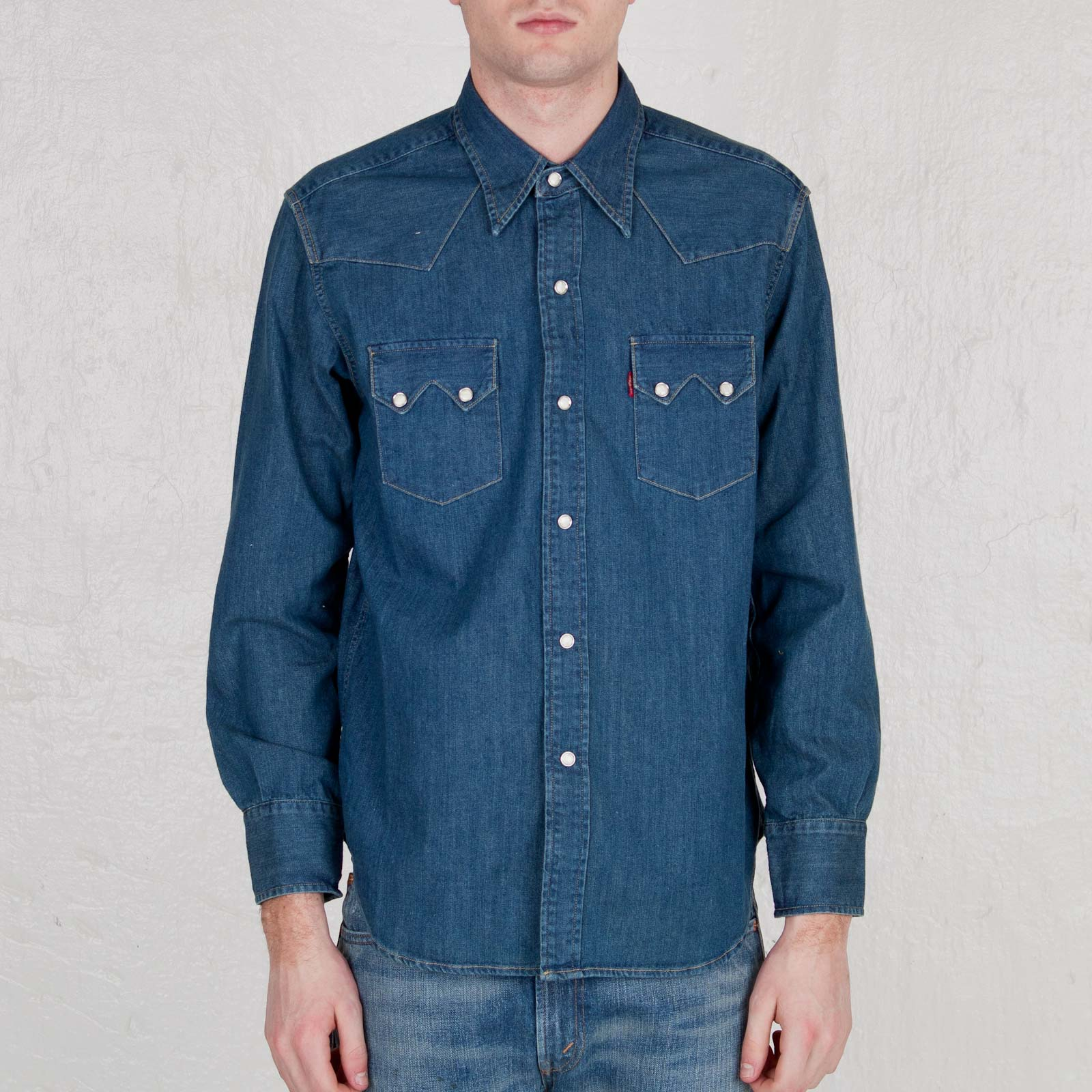 5c1891735fc2 Levis Vintage 1955 Sawtooth Denim Shirt - 07205-0022 ...