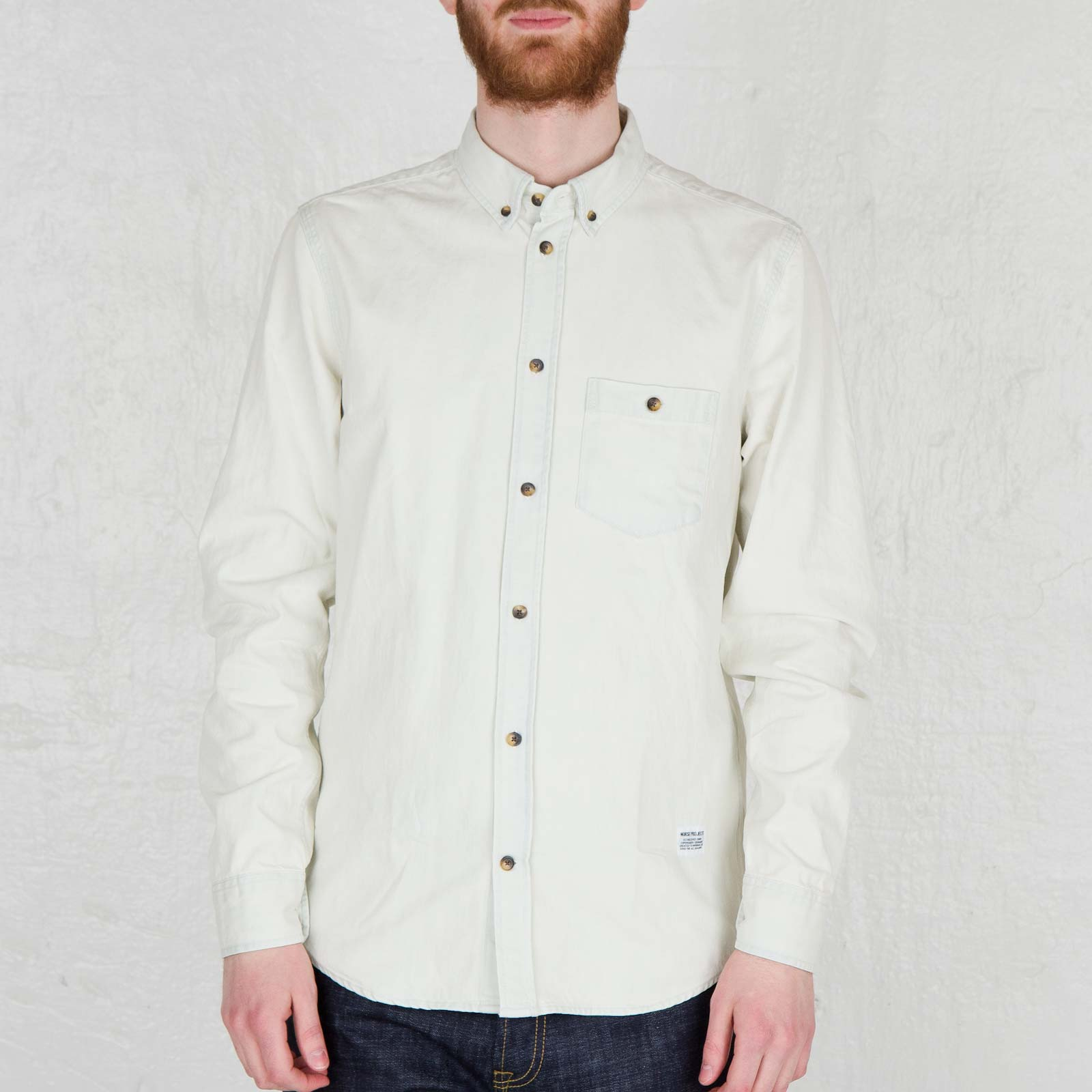 54f305a2df Norse Projects Anton Denim Shirt - N40-0089-7502 - Sneakersnstuff ...